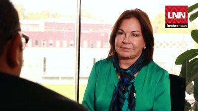 Entrevista con Paloma Guillen la dama de hierro de la política mexicana.