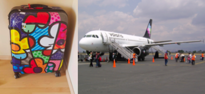 Volaris se vuela una maleta y usuarios estallan en redes
