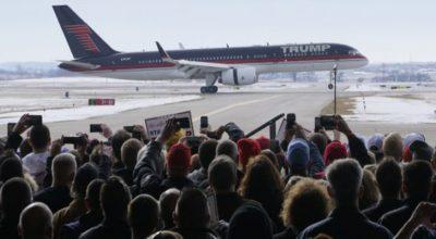 Trump ofrece su avión privado para aquellos famosos que amenazaron con abandonar Estados Unidos