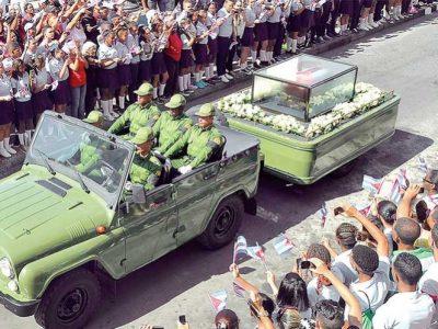 Fidel llega a su destino final