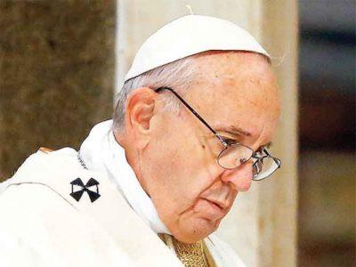 Prudencia en tiempos de crisis pide Francisco