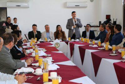 Álvaro de la Peña Secretario General de Gobierno de BCS: Combatir la Corrupción, vital para las Instituciones y la gente.
