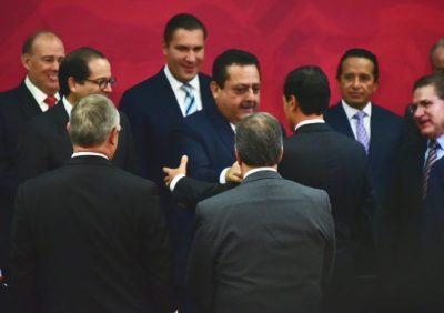 Carlos Mendoza Gobernador de Baja California Sur: solicita que se proteja el turismo en negociaciones con Estados Unidos