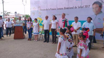 Carlos Joaquín: Protegiendo a las niñas y niños de Quintana Roo con esquemas completos de vacunación.