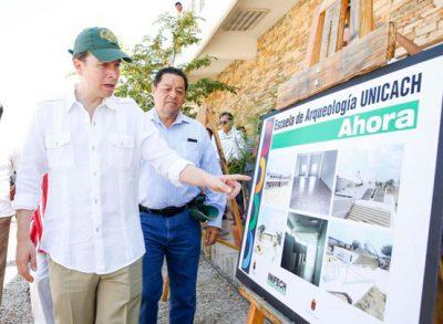 Manuel Velasco: Chiapas, único estado del sureste que oferta la carrera de Arqueología.