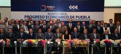 Tony Gali se reúne con el sector empresarial para fortalecer el progreso económico de Puebla