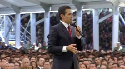 """"""" Crisis es lo que tienen en sus mentes"""": Peña Nieto"""