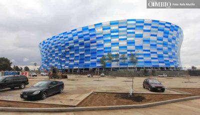 Estadio Cuauhtémoc, como candidato para el Mundial 2026