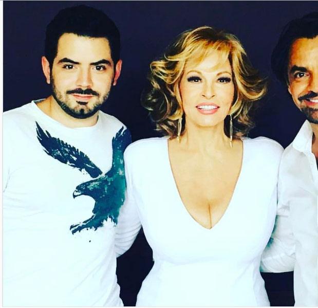 Recorta Victoria Ruffo a Eugenio Derbez de una foto en sus redes sociales