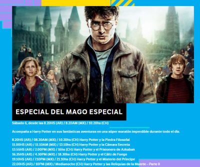 Al momento | No te pierdas el maratón de Harry Potter