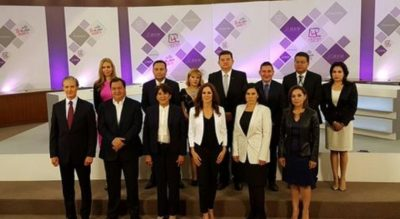 ¿Cuál fue la reacción de los medios ante el segundo debate en el Estado de México?