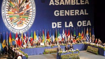 Cancilleres de la OEA inician reunión para discutir crisis en Venezuela