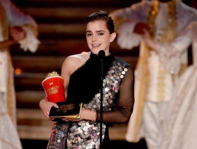 Emma Watson gana el primer premio MTV de género neutral