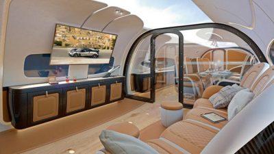 Airbus y Pagani muestran la aeronave con mas lujos del mundo