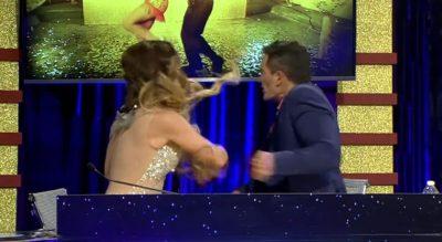 """Julio Camejo: """"si fuera hombre le tumbo los dientes"""""""