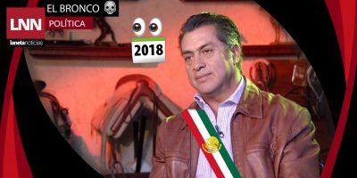 """Filtran la imagen de campaña del """"Bronco Presidente"""""""