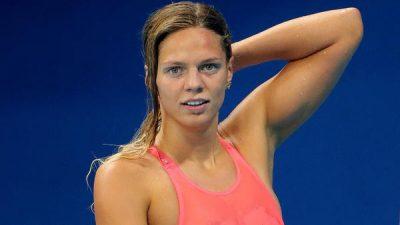 Así entrena fuera del agua la nadadora rusa Yulia Efimova