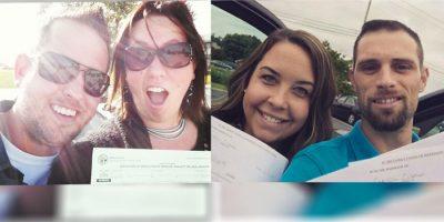 Nueva tendencia: Selfies de divorciados felices