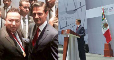 Reconoce Enrique Peña Nieto a Porfirio Ramirez el 'Midas del Derecho'