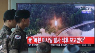 Reportan nuevo ensayo balístico de Corea del Norte