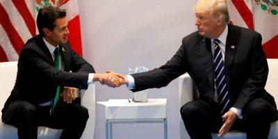 Trump reitera a Peña Nieto que México pagará el muro