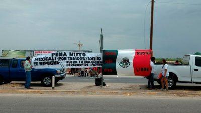 Peña es abucheado en Mexicali; recriminan cervecera estadounidense