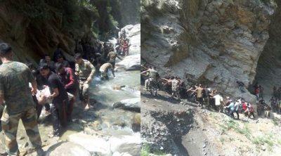 Mueren 16 peregrinos en un accidente de carretera en la India