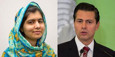 Malala agradece las palabras de Enrique Peña Nieto