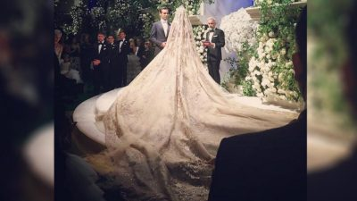 Novia rusa tiene boda de 10 millones de dólares y a Lady Gaga como espectáculo