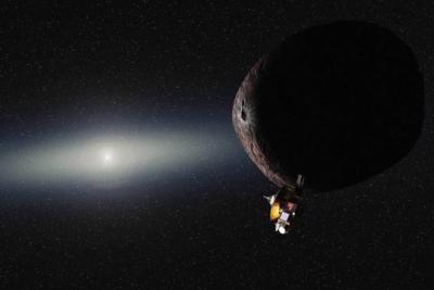 La NASA da a conocer espectaculares imágenes de Plutón