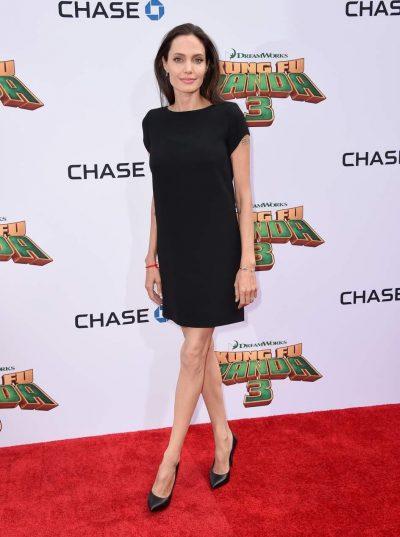 Angelina Jolie reaparece tras su divorcio con Brad Pitt