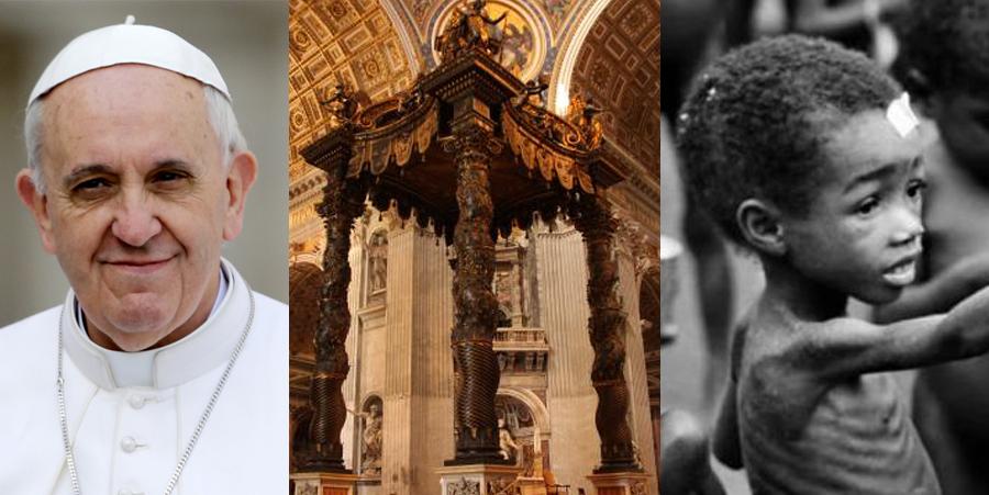 La verdadera razón por la que El Vaticano no combate la pobreza en el mundo