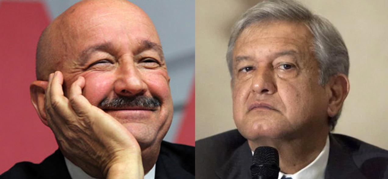 """""""Salinas está muy nervioso por el crecimiento de MORENA"""": AMLO"""
