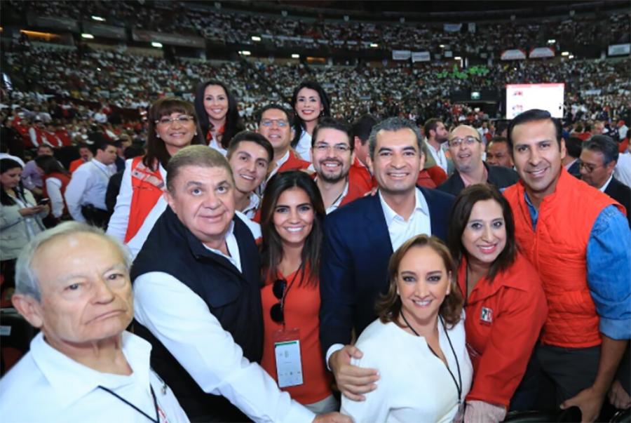 Dio inicio la Asamblea Nacional del PRI… por ahora más de 10 mil priistas