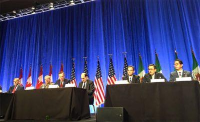 Dio inicio la primera ronda de las negociaciones del TLCAN