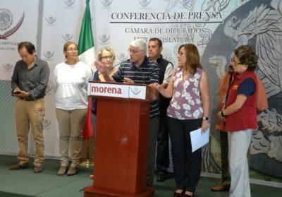 MORENA presentará denuncia a la PGR contra Lozoya por Odebrecht