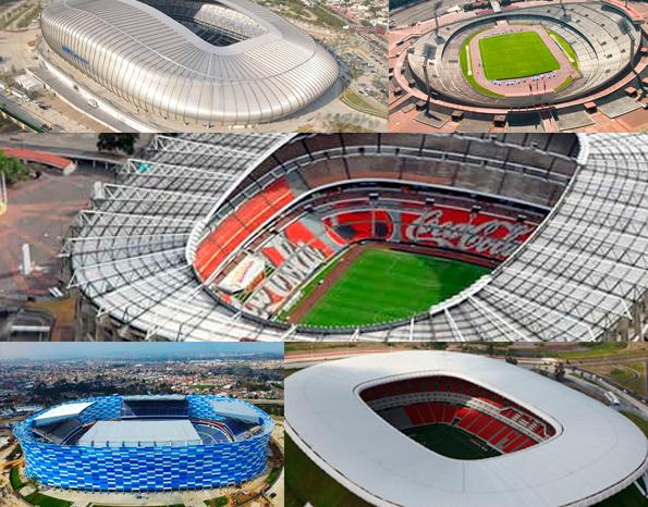 México sólo iría con 3 estadios para el mundial 2026 con Canadá y EUA