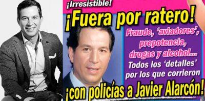 Javier Alarcón gana la demanda a TvNotas… pagará multa y se retractará