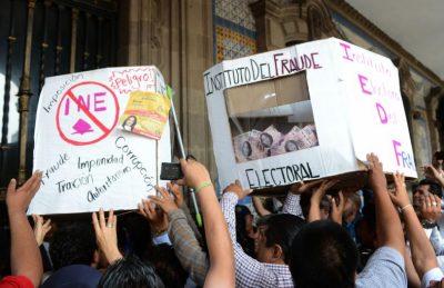 60 por ciento de los mexicanos percibe fraude electoral en Coahuila y Edomex