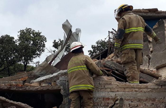 Explota fabrica de cohetes en Río Blanco; se reportan un muerto (VÍDEO)
