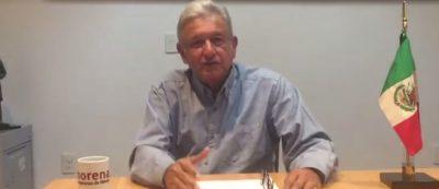 AMLO dice que negociación del TLCAN debería de ser con presidente electo