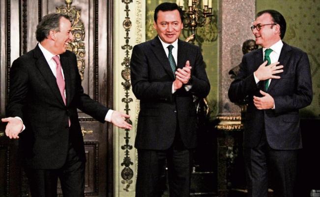 """""""Todos los aspirantes en el PRI son excelentes candidatos"""": Osorio Chong"""