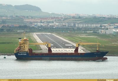 Extraño suceso hace que los barcos terminen en aeropuertos