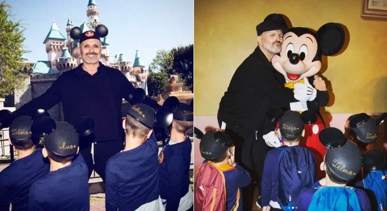 Buscan extorsionar a Miguel Bosé con 60 mil dólares por fotografías de sus hijos