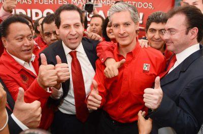 INAI ordena al PRI hacer públicos gastos de campaña de Del Mazo
