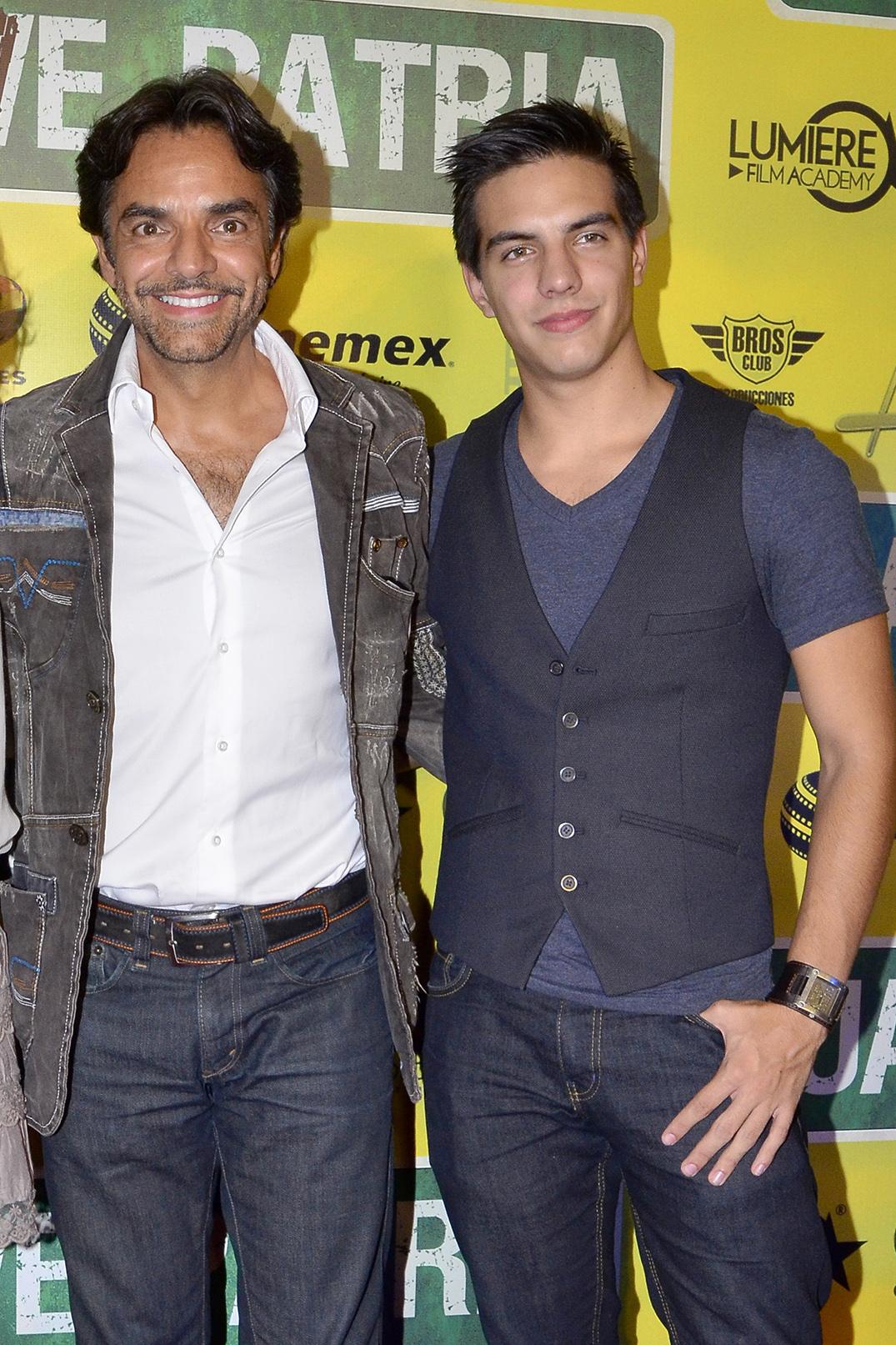 Eugenio Derbez da tremendo regaño a su hijo Vadhir en programa de radio