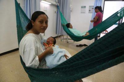 Hospital del IMSS en Campeche se vuelve el primero en tener hamacas