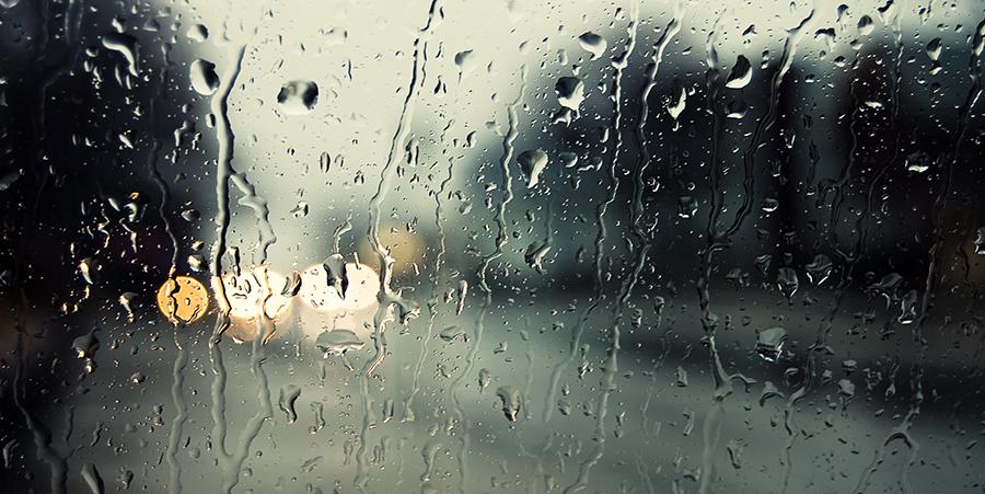 Viernes un día lluvioso en todo el país