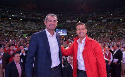 Enrique Ochoa y Enrique Peña Nieto se reúnen en Los Pinos