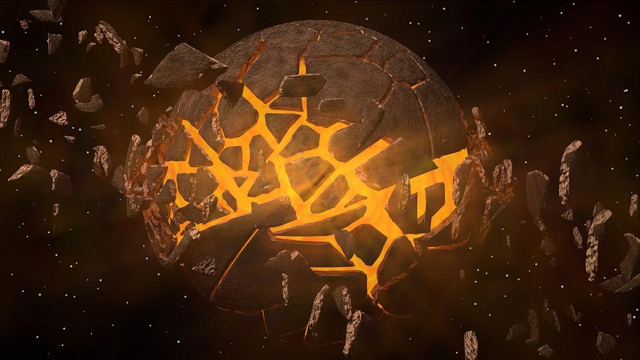 Caen a diario cien toneladas de material del espacio a la Tierra